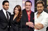 Abhishek - Aishwarya, Sanjay Dutt and Ajay Devgn