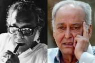 Mrinal Sen and Soumitra Chatterjee