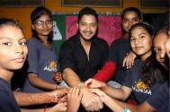 Shreyas Talpade celebrates Raksha Bandhan with The Akanksha Foundation kids