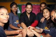 Shreyas Talpade celebrates Raksha Bandhan with The Akanksha Foundation kids
