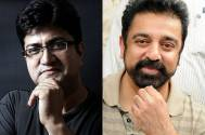 Prasoon Joshi and Kamal Haasan