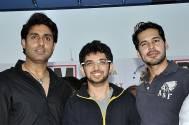 Abhishek Bachchan, Aditya Thackeray and Dino Morea