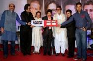 Mr.Surya Mantha, Talat Aziz, Anup Jalota, Pankaj Udhas, Shri Amitabh Bachchan, with Sumeet Tappoo & Aadarsh Gupta