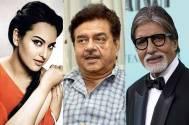 Sonakshi Sinha, Shatrughan Sinha and Big B