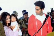Abhishek and Aishwarya Bachchan with Aaradhya