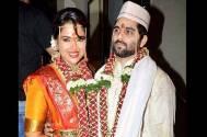 Sameera Reddy and her husband Akshai Varde