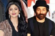 Shilpa Shetty and Sunny Deol