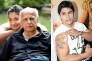 Mahesh Bhatt, Pooja Bhatt and Rahul Bhatt