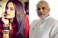 Sonakshi Sinha and Narendra Modi