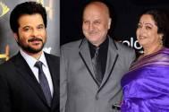 Anil Kapoor, Anupam Kher and Kirron Kher