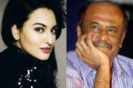 Sonakshi Sinha and Rajnikanth