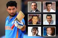 B-town celebs extend their support to Yuvraj Singh