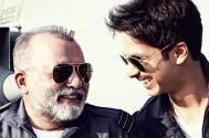 Shahid and Pankaj Kapur