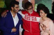 Arjun Kapoor, Amitabh Bachchan and Deepika Padukone