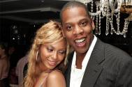 Singers Jay Z and Beyonce Knowles