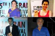 Asha Parekh, Kangana Ranaut, Rajkumar Rao and Sanjay Mishra awarded at the 5th Jagran Film Festival