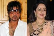 Shakti Kapoor and Hema Malini