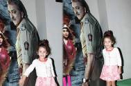 Sanjay Dutt's daughter Iqra hugged his standee