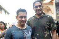 Aamir Khan and his son Junaid Khan