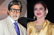 Amitabh Bachchan and Rekha