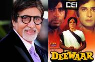 Amitabh Bachchan remembers special moments of Deewaar