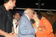 Ram Jethmalani again kisses - this time Leena Chandavarkar
