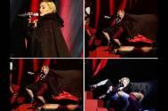 When Madonna had a great fall at BRIT Awards