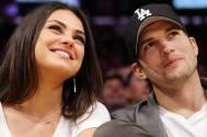 Mila Kunisand Ashton Kutcher