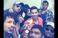 Rohit Shetty 'ice cream' treat for his Dilwale team
