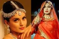 Kangana Ranaut and Meena Kumari