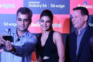 Selfie crazy Jacqueline Fernandes launches Samsung Galaxy S6