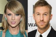 Taylor Swift and boyfriend and DJ Calvin Harris