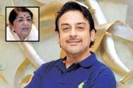Adnan Sami and Lata Mangeshkar