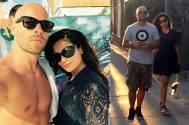 Richa Chadda with rumoured boyfriend Franck Gastambide