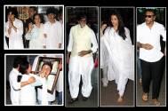 Aishwarya, Amitabh among Bollywood mourners at Aadesh's 'Chautha'