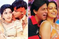 Juhi Chawla and SRK
