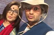 Farah Khan and Riteish Deshmukh