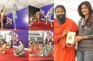 Shilpa Shetty Kundra and Baba Ramdev
