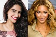 Sonam Kapoor and Beyonce Knowles