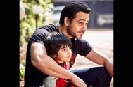 Emraan Hashmi with his son