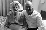 Anupam 'happy' to meet Kirron's 102-year-old dad