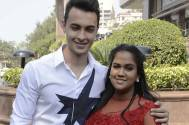Aayush Sharma and Arpita Khan