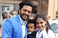 Riteish Deshmukh and family