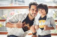 Emraan Hashmi's son makes first appearance on screen