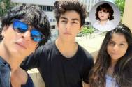 SRK's kids' artistic bond