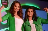 Sonakshi Sinha with Sakshi Malik