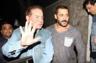 Salim Khan takes a dig at Salman's critics
