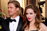Hollywood couple Angelina Jolie and Brad Pitt