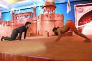 Baba Ramdev and Ranveer Singh