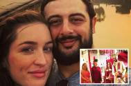 Arunoday Singh got hitched to his girlfriend, Lee Elton